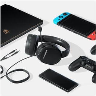 multiplatformní sluchátka herní headset