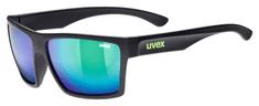 Uvex LGL 29 sportske naočale, mat crna/zelena