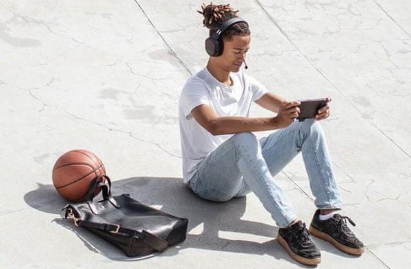 Sluchátka SteelSeries Arctis 1 Wireless (61512) 40mm měniče, čistý zvuk, výšky, herní headset, odpojitelný mikrofon