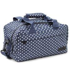 Member's Cestovní taška MEMBER'S SB-0043 - modrá/bílá