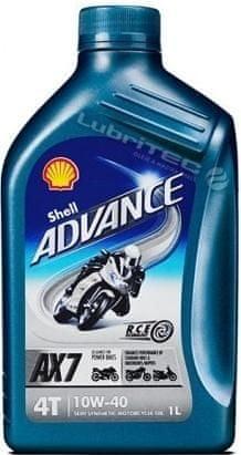 Shell Shell ADVANCE 4T AX7 10W-40 1L