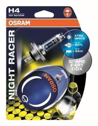Osram OSRAM H4 60/55W 12V NIGHT RACER /64193NR-02B