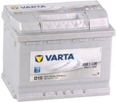 varta Autobaterie Varta Silver Dynamic 12V 63Ah 610A, 563 400 061, 563400061
