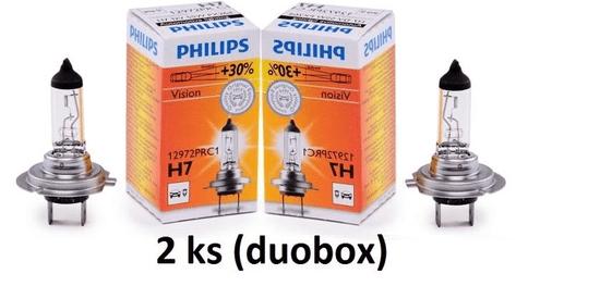 A.B.S. ALL BRAKE SYSTEMS BV. PHILIPS H7 12V 55W PX26d Premium DUOBOX 2ks