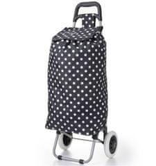 Aerolite Nákupní taška na kolečkách HOPPA ST-205 - černá
