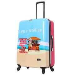 Mia Toro Cestovní kufr MIA TORO HALINA H1011/3-L