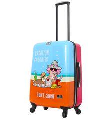 Mia Toro Cestovní kufr MIA TORO HALINA H1011/3-M