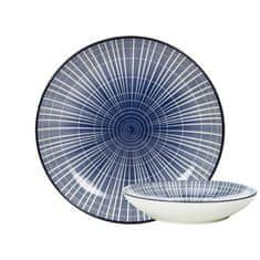 Gusta GUSTA Sushi talíř 21,5 cm proužky