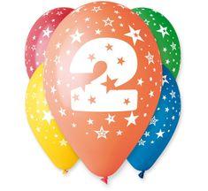 Gemar Latex ballonok száma 2 színmix - a hélium - 5db