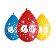 Gemar Latex Balloons Száma 40 mix színes levegő-5db