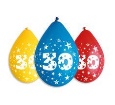 Gemar Latex Balloons Száma 30 színes mix-on levegő-5db