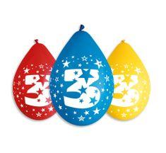 Gemar Latexové balóny číslo 3 mix farieb - na vzduch - 5 ks