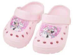 Eplusm Dievčenské sandále Minnie - svetlo ružová