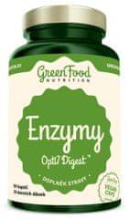 GreenFood Enzýmy Opti 7Digest vegan 90kapsúl