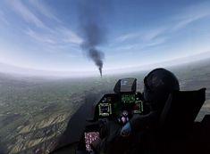 Allegria let na simulátoru stíhačky F-16 Fighting Falcon