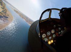 Allegria let na simulátoru Spitfire