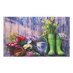 FLOMA Vnitřní vstupní čistící rohož Gallery, Gardentools - délka 45 cm, šířka 75 cm a výška 0,6 cm