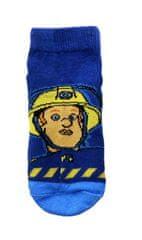 SETINO Chlapecké kotnikové ponožky Požárnik Sam - tmavo modrá