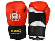 King Fighter Boxerské rukavice King Fighter červeno/černé váha/velikost: 10