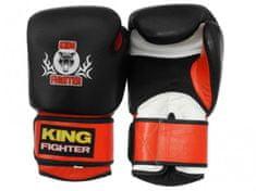 King Fighter Boxerské rukavice King Fighter černo/červené váha/velikost: 10