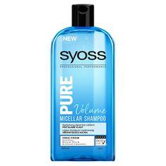 Syoss Szampon micelarny do przerzedzania włosów Pure Volume (Micellar Shampoo) 500 ml