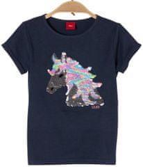 s.Oliver dievčenské tričko s jednorožcom