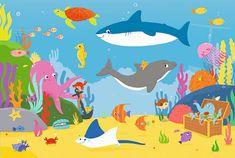 Trefl Underwater world 15 maxi