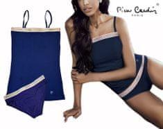 Pierre Cardin komplet (tílko+kalhotky) - modrá