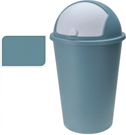 EXCELLENT Koš odpadkový plast 50 l zelený