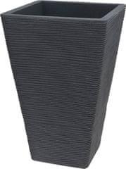 ProGarden Kvetináč rebrovaný 35 x 55 cm sivá