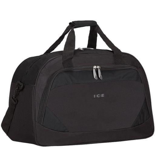 AZURE Cestovní taška ICE 7558 - černá