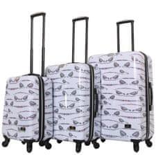 Mia Toro Sada cestovních kufrů MIA TORO HALINA H1013/3