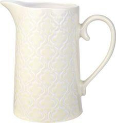 Lene Bjerre Ceramiczny dzbanek ABELLA, żółty