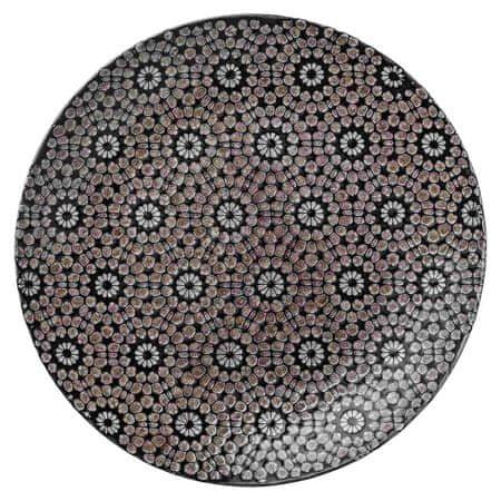 Lene Bjerre Płyta ceramiczna ABELLA, czarna
