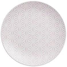 Lene Bjerre Keramický tanier ABELLA ružový 27 x 3 cm