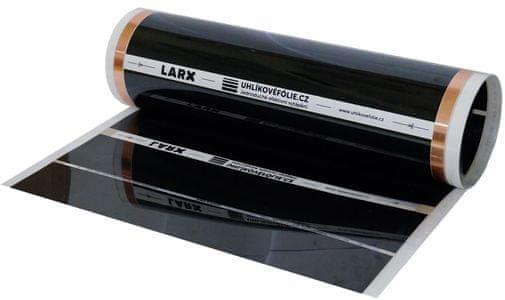Vykurovacia podlahová uhlíková fólia LARX CarbonKit podlahové kúrenie celoplošná fólia účinné podlahové vykurovanie ušetriť za kúrenie