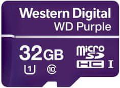 Western Digital spominska kartica microSD 32GB Purple