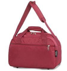 Aerolite Cestovní taška AEROLITE 615 - vínová