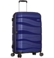 AZURE Kabinové zavazadlo SIROCCO T-1233/3-S PC - modrá