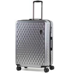 Rock Cestovní kufr ROCK TR-0192/3-L ABS/PC - stříbrná