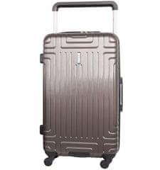 Aerolite Cestovní kufr AEROLITE T-2821/3-L ABS - charcoal