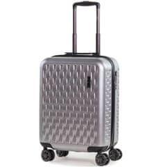 Rock Kabinové zavazadlo ROCK TR-0192/3-S ABS/PC - stříbrná