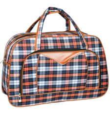 REAbags Cestovní taška REAbags LL37 - modrá/oranžová
