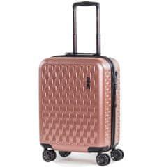 Rock Kabinové zavazadlo ROCK TR-0192/3-S ABS/PC - růžová