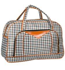 REAbags Cestovní taška REAbags LL37 - černá/hnědá