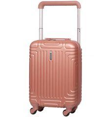 Aerolite Kabinové zavazadlo AEROLITE T-2821/3-S ABS - růžová