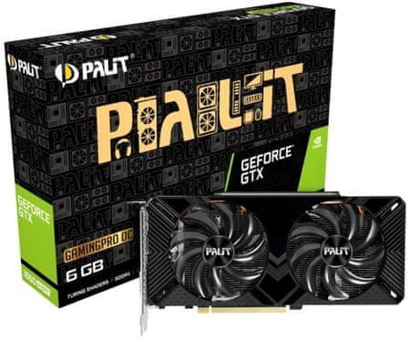 PALiT GamingPro OC GeForce GTX 1660 SUPER, 6 GB GDDR6 grafična kartica
