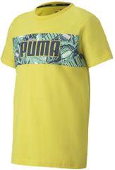 Puma majica za dječake Alpha Graphic Tee B Meadowlark