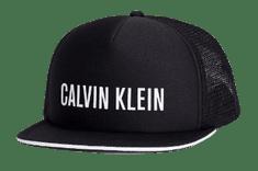 Calvin Klein czarna damska czapka z daszkiem KU0KU00056 Cap
