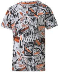 Puma majica za dječake Alpha AOP Tee B Puma White